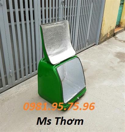 Thùng chở hàng sau xe máy, thùng tiếp thị giá rẻ, thùng giữ nhiệt